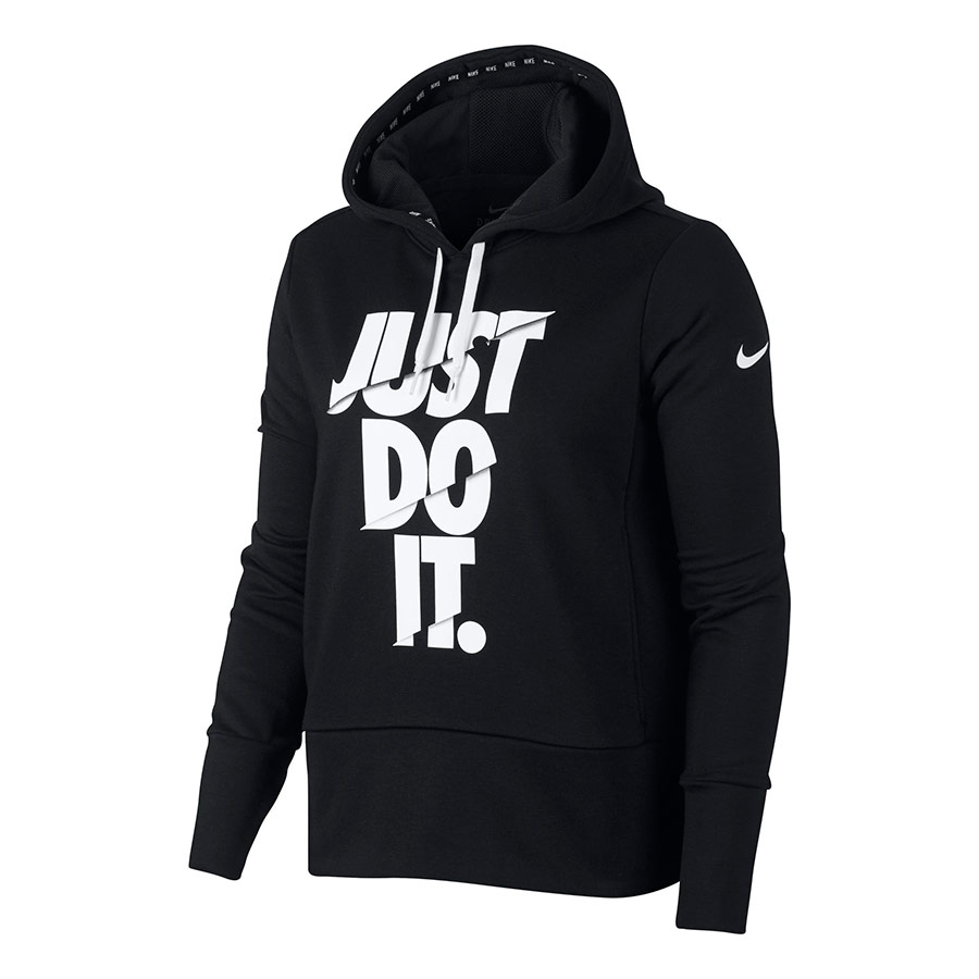 Blanc Deporvillage Noir Femme Dry Training Shirt Sweat Hoodie Nike vFxqTZpn