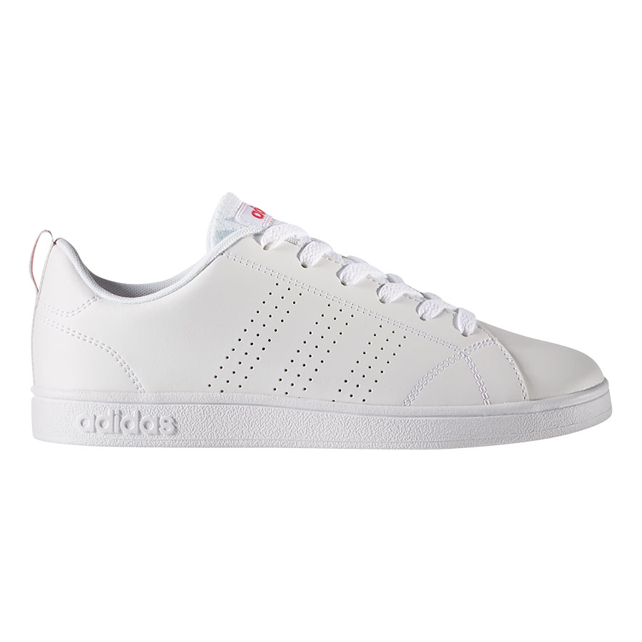 great fit dcb07 3bf70 Chaussures adidas neo VS Advantage Clean blanc rose junior  deporvillage