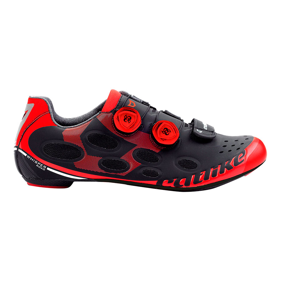 RougeDeporvillage Catlike Whisper Chaussures Noir Road EH2WDI9