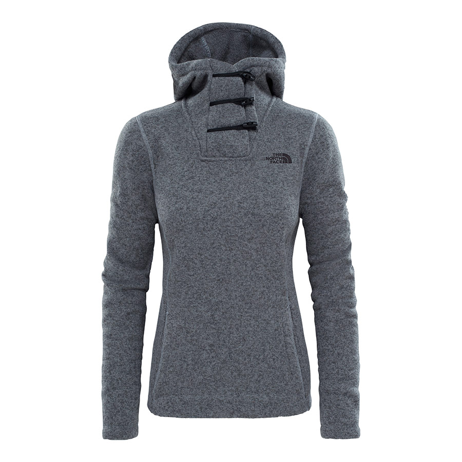 Sweatshirt The North Face Crescent gris femme  0a530bc9c14a